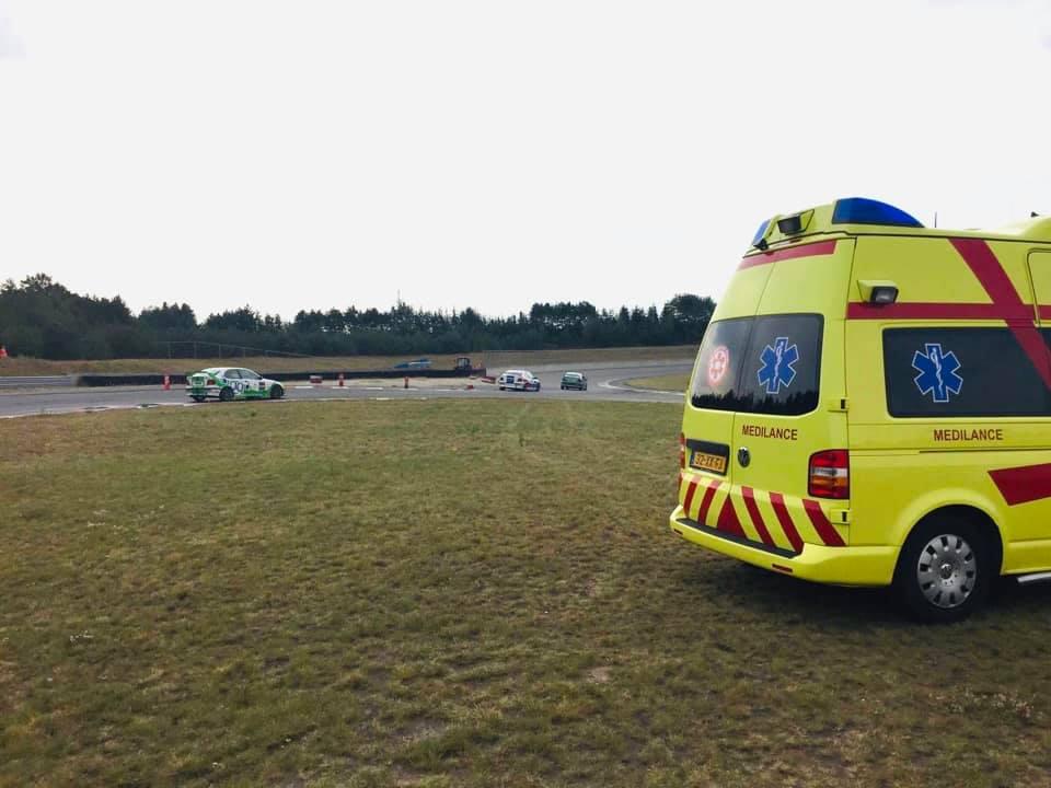 TOP Medical Team in actie bij de autoraces op Racepark Meppen (Duitsland).