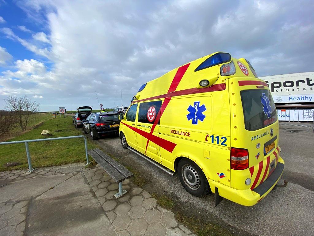 T5-ambulance achterkant